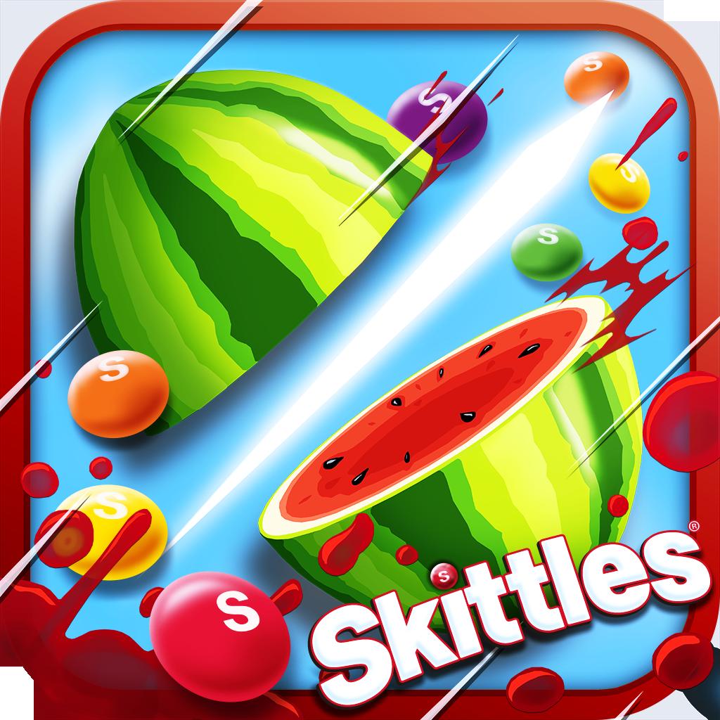 水果忍者大战彩虹糖 Fruit Ninja vs Skittles