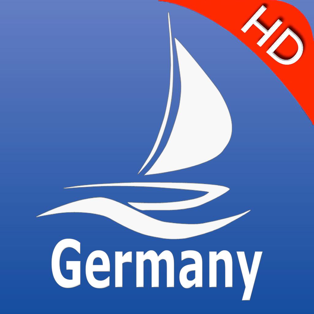 Germany GPS Nautical charts pro